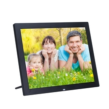 New 14 Inches LED Screen High-Definition Wide-Screen Digital Photo Frame Electronic Album Picture Music Porta Retrato Digital