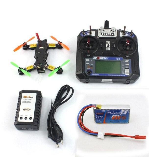 Tarot 2.4g 6ch rc mini racing f17840-a drone 130 rtf DIY TL130H1 CC3D 520TVL HD Cámara Quadcopter Combo de Control de Vuelo conjunto