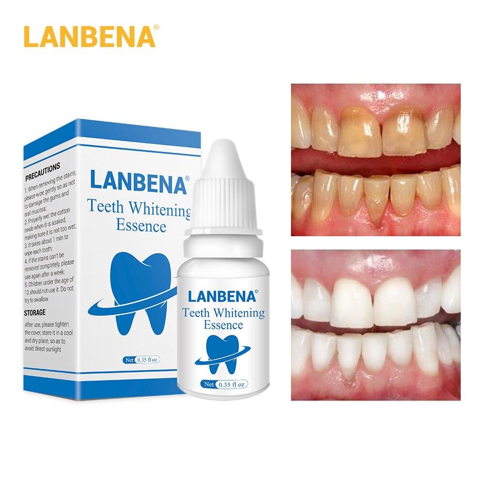 Schönheit & Gesundheit Lanbena Zähne Bleaching Essenz Pulver Oral Hygiene Reinigung Serum Entfernt Plaque Flecken Zahn Bleichen Dental Werkzeuge Zahnpasta Hautpflege