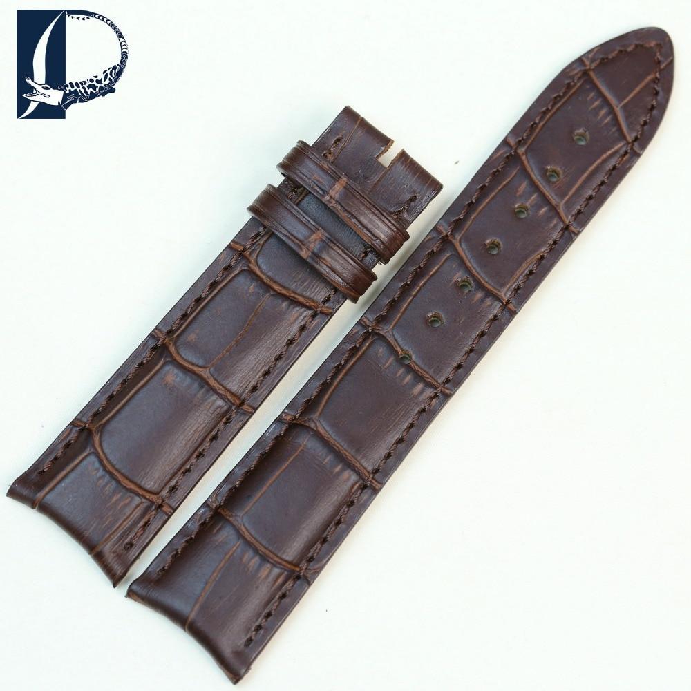 Pesno New Watchbands 20 mm Crocodile Alligator Grain Genuine Calfskin - Aksesorë për orë - Foto 3