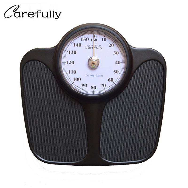New Arrive Bathroom Floor Scales Household Body Bariatric Precision Weighing Scale Spring Balance Mechanical 160kg