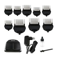 KEMEI KM 6032 Clipper Electric Hair Trimmer Professional for Men Shaver Hair Cutting Machine With 9 x Trimming Comb