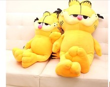 NEW STuffed plush toy lovely Garfield doll soft Toy birthday gift about 60cm