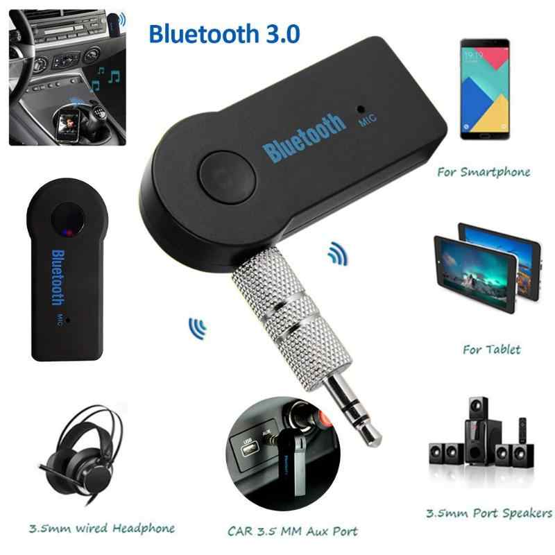 MP3 جهاز استقبال للموسيقى محول 3.5 مللي متر AUX جاك بلوتوث V3.0 + EDR حر اليدين السيارات بلوتوث سيارة كيت لمعظم المنتجات الالكترونية