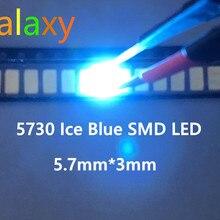 1000 шт 5730 диод бледно-голубого цвета SMD светодиодный 5630 светоизлучающий диод Прямая с фабрики PLCC-2 5730 SMD/SMT синий светодиодный