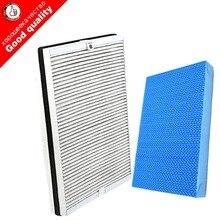 1 pc 4158 filtr HEPA z węglem aktywnym + 1 pc AC4155 filtr do nawilżacza powietrza dla Philips AC4080 AC4081 oczyszczacz części do oczyszczania powietrza