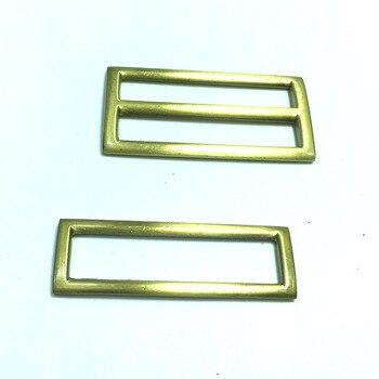 """2"""" ( 50mm) Bronze triglide slider & buckle for adjustable straps"""