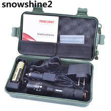 snowshine2#3522 bike light   Bright 5000LM X800 shadowhawk CREE T6 LED Flashlight Torch Lamp G700 Light Kit free shipping  dd