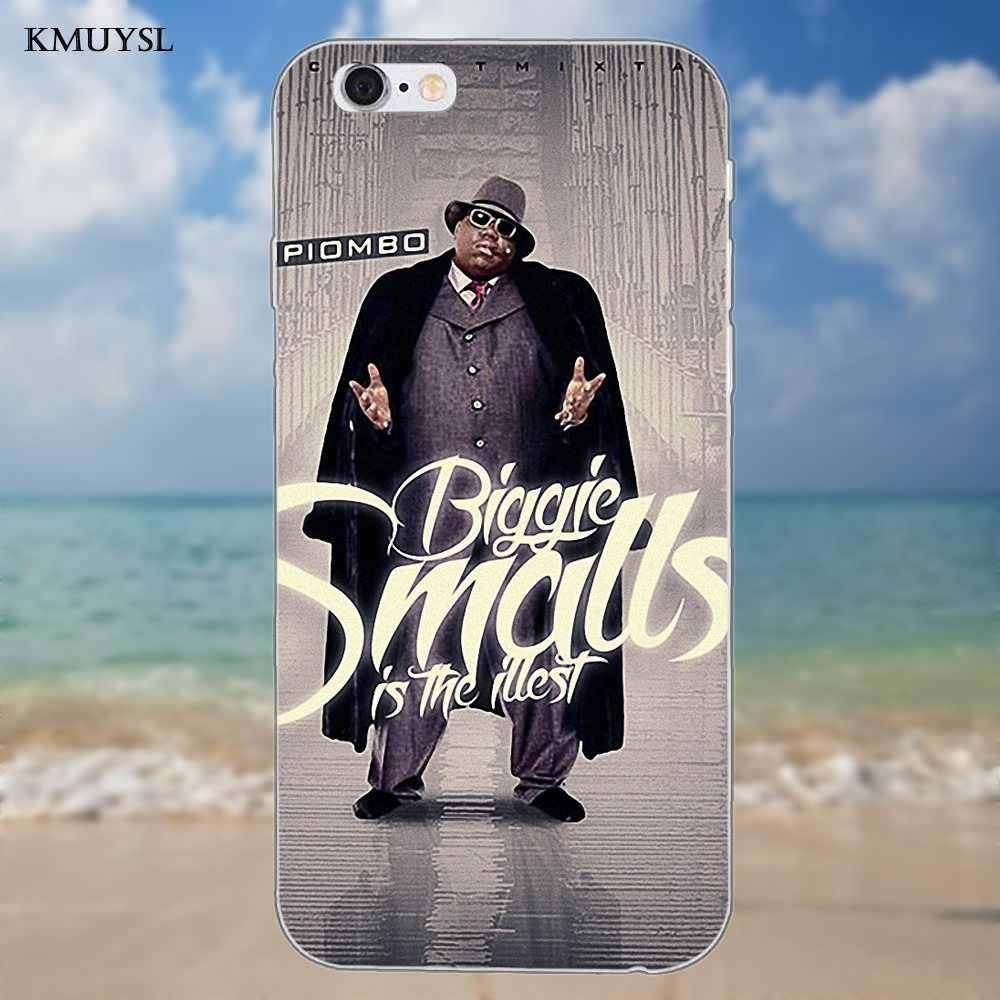 Biggie Smalls B. i. g. Рэп хип хоп Легенда для iPhone X 4 4s 5 5C SE 6 6 S 7 8 Plus Galaxy S5 S6 S7 S8 большое ядро II Prime Alpha
