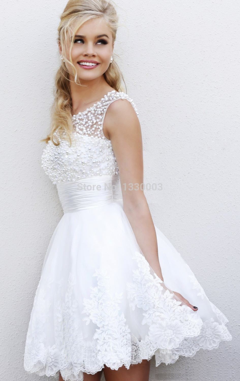 Гольфы под короткое свадебное платье фото