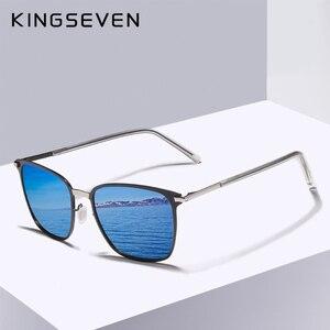Image 1 - KINGSEVEN Gafas De Sol polarizadas para hombre, lentes De Sol polarizadas clásicas para conducir, viajes, Unisex, 2018