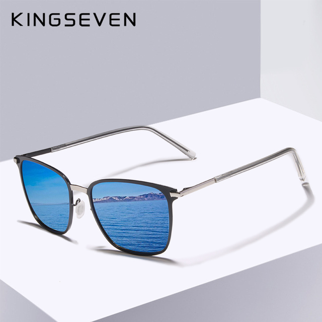 KINGSEVEN Gafas De Sol polarizadas para hombre, lentes De Sol polarizadas clásicas para conducir, viajes, Unisex, 2018