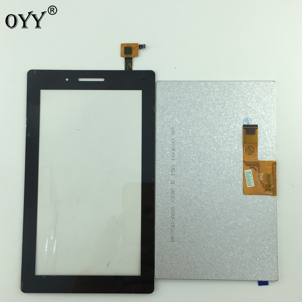 new Touch Screen Digitizer Glass+LCD Display Assembly 7 inch For Lenovo Tab 3 7.0 710 essential tab3 TB3-710F TB3-710L/I 100% original for samsung galaxy note 3 n9005 lcd display screen replacement with frame digitizer assembly free shipping