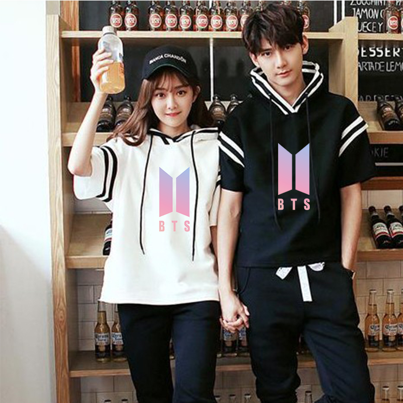 BTS Streetwear T-Shirts for Couples
