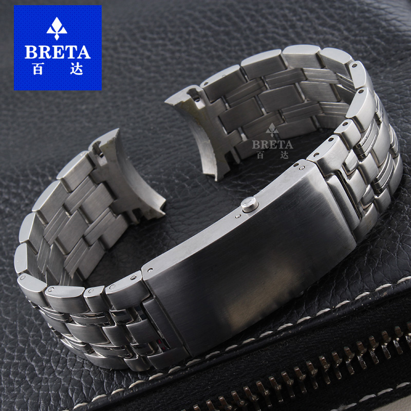 20mm22MM High Quality Stainless Steel Watch Band NewFashion Watch accessories Fine Steel Buckle With For OMJ seam 007 Strap wholesale price high quality fashion high quality stainless steel watch band straps bracelet watchband for fitbit charge 2 watch