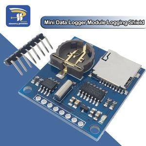 Mini Data Logger Module Logging Shield for Arduino For Raspberry Pi Logging Recorder Data Logger Module Shield V1.0 SD Card(China)