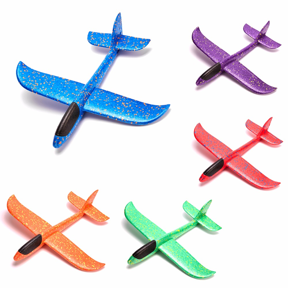 Actif Super Grand 49 Cm Enfants Jouets Jet De Main Avion Vol Planeur Avions Epp Mousse Avion Modèle Partie Sac Remplisseurs Extérieur Lancement Jeu Jouet Approvisionnement Suffisant