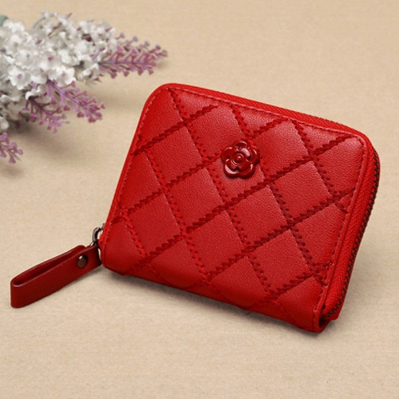 mulheres da bolsa da moeda Color : Black, , red, , dark Blue, , rose Red, , green