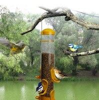 14x14x38 CM Kunststoff Vogelhäuschen mini garten outdoor park wilden vogel lieferungen pet produkte