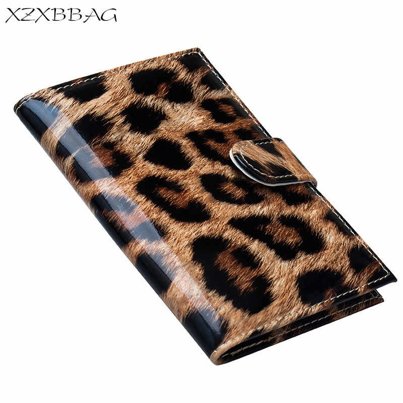 XZXBBAG Fashion Leopard PU Leather Passport Cover Case With Multiple Card Holders Travel Document Organizer Passeport Sheath