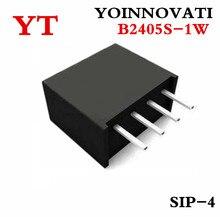 10 pçs/lote B2405S 1W B2405S B2405 DC DC SIP4 melhor qualidade.
