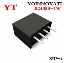 10 teile/los B2405S 1W B2405S B2405 DC DC SIP4 beste qualität.