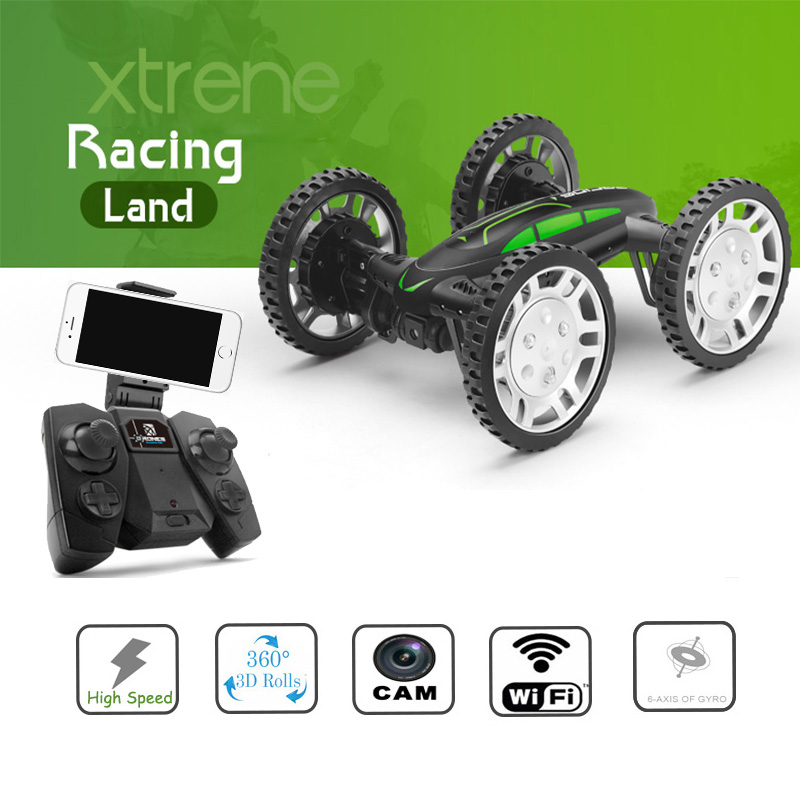 New Design High Speed font b RC b font 4WD Car with Cam Off road Flying