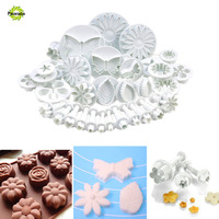 33pcs Set Butterfly Cake Decorating Tools Cupcake Kitchen Fondant Kitchen Accessories Cake Mold Cookie Cutter Molde