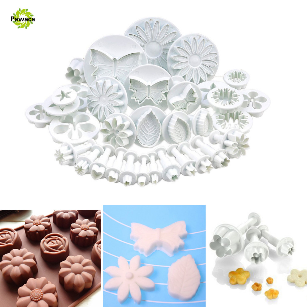 33pcs/set Butterfly Cake Decorating Tools Cupcake Kitchen Fondant Kitchen Accessories Cake Mold Cookie Cutter Molde De Torta 4