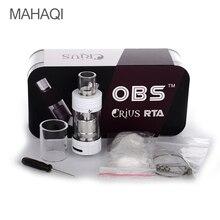 Original OBS Crius RTA Tanque Vaporizador Cigarrillos Electrónicos 4.2 ml Relleno Lateral Superior Fácil Rebuildable e-cigarrillo Atomizador tanque