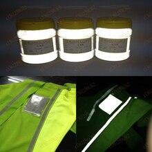 100 г Супер яркий отражающий порошок высокорефракционное стекло микросфера отражающий порошок отражающее покрытие микро стеклянный шарик
