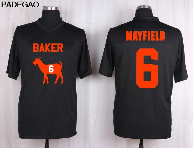 baker mayfield orange jersey
