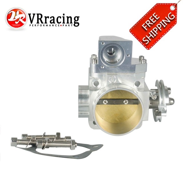 VR RACING - FREE SHIPPING NEW THROTTLE BODY FOR EVO 4G63 evo7 evo8 evo9 4g63 turbo 70mm CNC Intake Manifold Throttle Body VR6948 engine swap turbo intake manifold for mitsubishi evo 4 9 4g63 high performance polished it5934