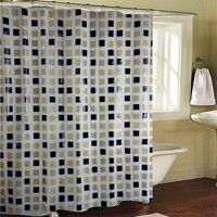חדר אמבטיה פסיפס EVA חום פנטסטי מקלחת טחב עמיד למים מבוך