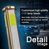 canbus שגיאה חינם 2pcs H7 H11 H8 H9 9005 9006 H4 LED רכב נורות 80W מוארת פנס מנורה CANbus שגיאה חינם מפענח 4-צדי אורות ערפל אוטומטי זוהר (5)