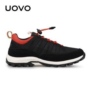 Image 3 - חדש בנים ובנות ספורט נעלי סתיו UOVO 2020 ילדי נעליים לנשימה ילדי נעלי Brethable שטוח מקרית סניקרס Eur #32 38