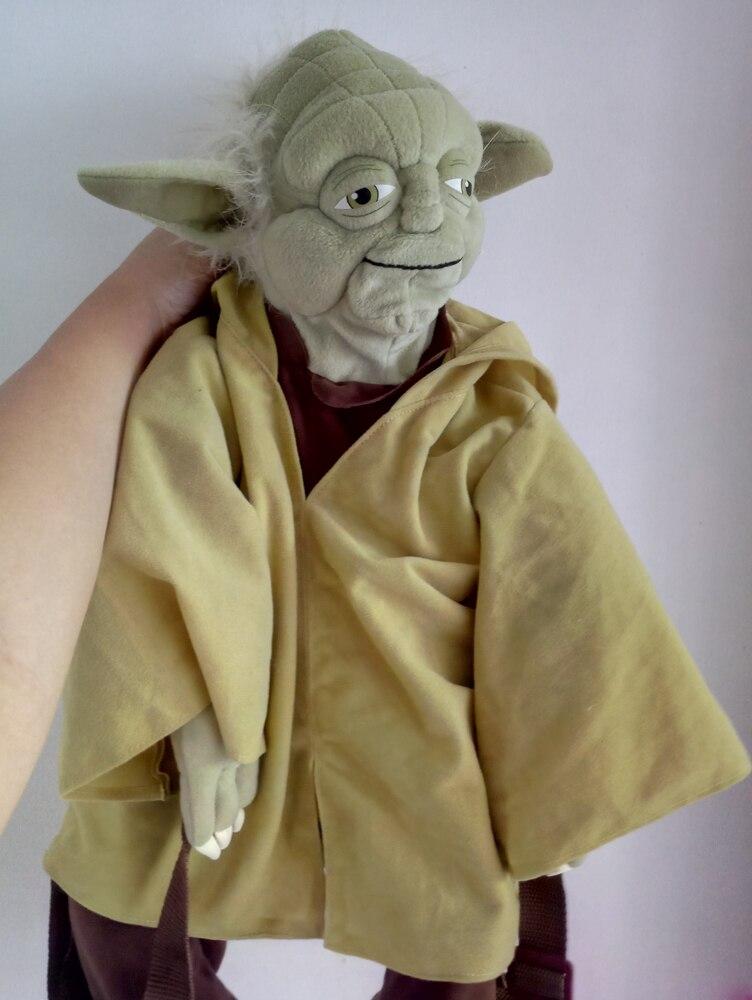 bcb650bd74b Rare Star Wars Yoda 24inch bag BackPack Stuffed Plush toy Last Jedi ...