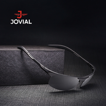 2017 New Brand JOVIAL Men Polarized Sunglasses Night Vision Driving Sun glasses Hunting Running Goggles eyewear UV400 #P8177