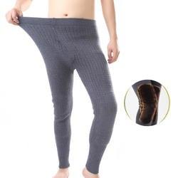Зимние толстые кашемировые леггинсы теплые брюки меринос бесшовные шерстяные вязаные Леггинсы Термобелье колготки мужские кальсоны брюки