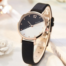 Fashion Watch Women Casual Leather Elegant Wrist Watches Clock Woman Analog Sport Quartz Watch Ladies Watch relogio feminino quartz watch clock woman high quality cute cat printed women s watches faux leather analog ladies girl gift casual sport watches