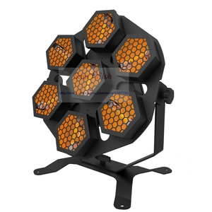 Image 3 - Led ランプ 7X100W レトロフラッシュ光輸送ライトディスコパーティープロの舞台効果光 dj 機器
