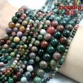Best Selling 4 mm 6 mm 8mm10mm cor mistura natural cascalho pedra India Beads fit for fashion bracelete & DIY fazer jóias