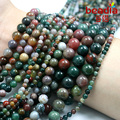 Best Selling 4mm 6mm 8mm10mm natural mixed color gravel India stone Beads fit for fashion bracelet & DIY Jewelry making