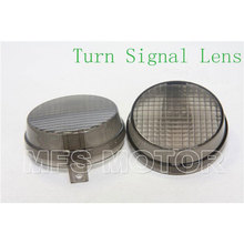 motorcycle parts Turn Signal Lens for Vulcan 2000 1600 Classic Nomad Honda Cruisers Smoke