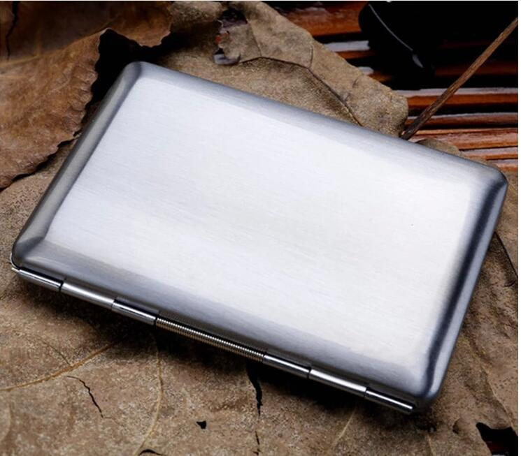 HOT Men Women Ultra Thin Stainless Steel Credit Card RFID Protector Wallet Holder