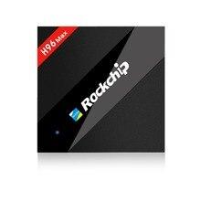 Rockchip RK3399 H96max 4 GB/32 GB Android 7.1 TV kutusu ile Önceden yüklenmiş KODI c tipi portu medya oynatıcı kutuları