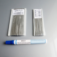 30M Tab wire + 3M Bus wire PV Ribbon Tabbing wire +1pc Kester 951 10ml Soldering Rosin Flux Pen