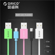 New ORICO Micro USB Cable Fast Charge 5V3A 1m Quick Data Sync for Android Mobile Phone Samsung Galaxy S6 S4 S3 LG HTC Sony