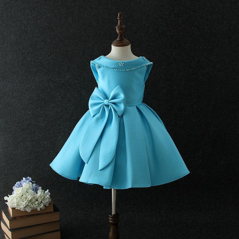 Прекрасный милый цветок створки платье для девочек Дешевые бальное платье пол Длина рюшами из органзы цветок платья для девочек милые девушки вечерние платья - 3