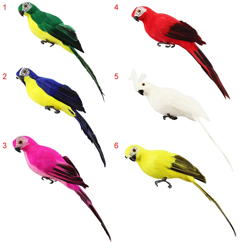 Bird Garden Decor Simulation Parrot Garden Decoration For Show Window Gardening Decorative Shopping Mall Garden Supplies